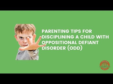 Parenting Tips for Disciplining an Oppositional Defiant Disorder (ODD) Child