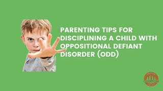 This video describes oppositional defiant disorder (ODD), conduct disorder (CD), and antisocial pers.
