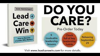 LEAD. CARE. WIN. 60-Second Book Trailer