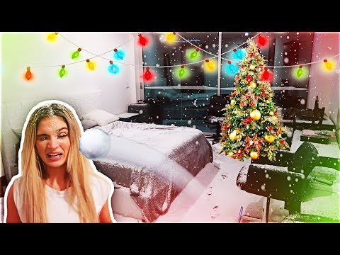 INDOOR SNOWSTORM AT THE CLOUT HOUSE (Ricegum, Sommer Ray & WolfieRaps)