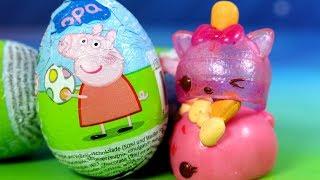 Num Noms & Świnka Peppa • Czekoladowe jajka Niespodzianki • bajka po polsku