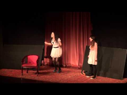 """21.06.15-21-from the Play """"Two"""" – The Arab-Hebrew Theatre , Jaffa, Israel"""