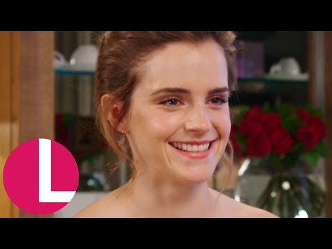 Emma Watson Talks Becoming Belle And Feminist Books! | Lorraine