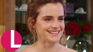 Emma Watson Talks Becoming Belle And Feminist Books! | Lorraine