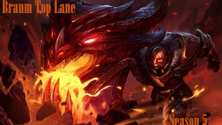 Braum Top Lane Season 5