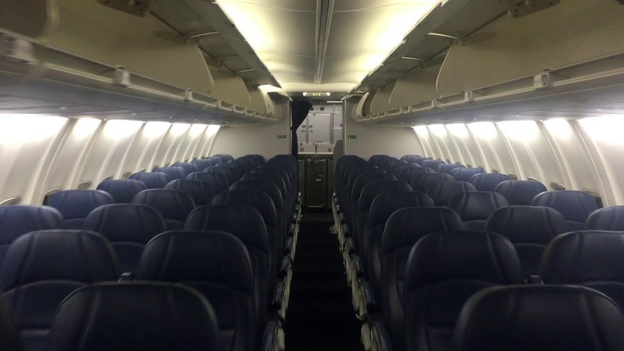 Delta 737 800 H Cabin