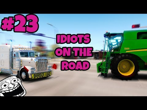 American Truck Simulator Multiplayer: Idiots on the Road | Random & Funny Moments | #23