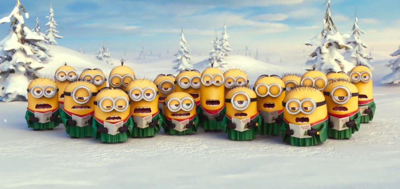 Weihnachtslied - Minions - Film am Schirm - YouTube