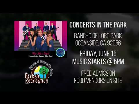 Concerts in the Park - The Mar Dels