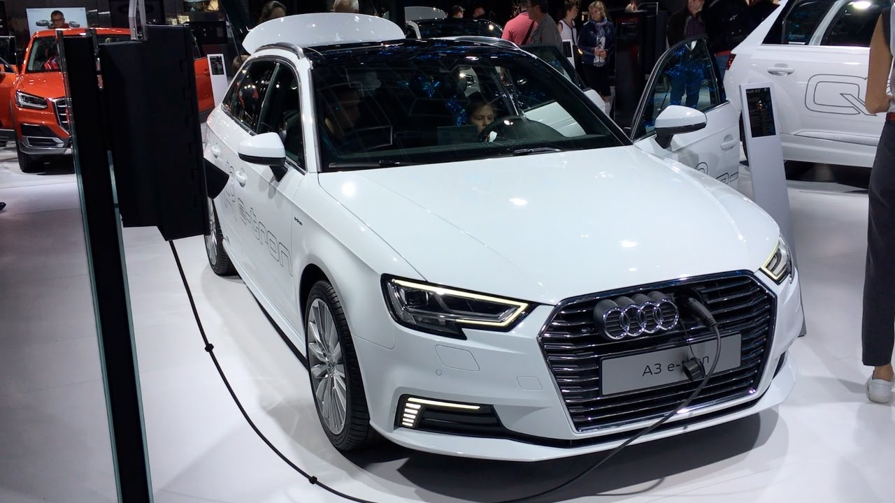 Audi A3 E Tron 2017 In Detail Review Walkaround Interior Exterior You