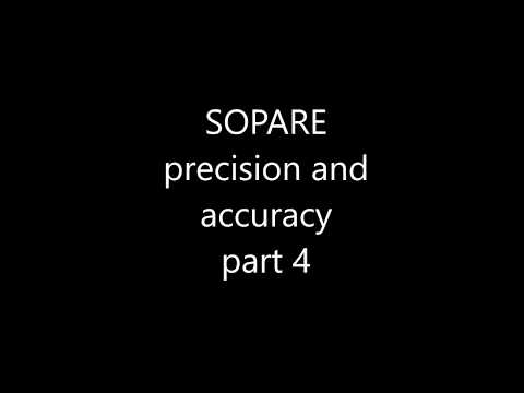 Sopare precision and accuracy | home of bishoph