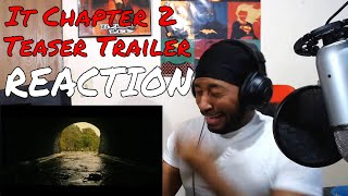 IT CHAPTER TWO - Official Teaser Trailer REACTION | DaVinci REACTS