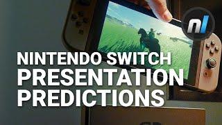 Your Nintendo Switch Reveal Presentation Predictions | Alex Asks