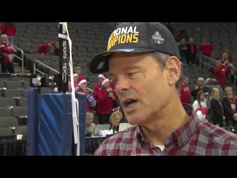 John Cook Talks Volleyball National Championship Victory