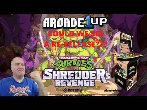 Arcade1up: Could We See A Re-Release of TMNT Arcade?  We Talk TMNT Shredder's Revenge! from PsykoGamer