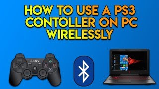 How To Use A PS3 Controller On A PC Wirelessly -  2019 - No Motionjoy