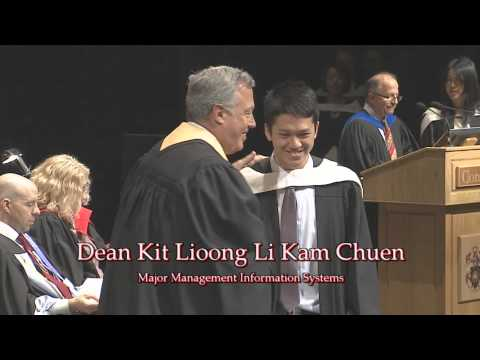 Spring 2014 Convocation Ceremony - John Molson School of Business – 1