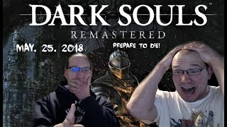 Dark Souls is Back! Reacting to Dark Souls Remastered Announce Trailer (PS4, Xbox One, PC+ Switch)