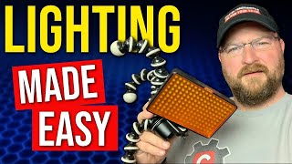 Video Lighting For Beginners | Super Simple Guide