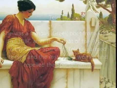 The greatest Greek women from antiquity untill medieval times