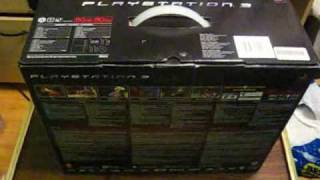 80GB PS3 Unboxing