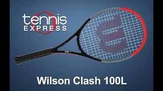 Wilson Clash 100L Tennis Racquet Review | Tennis Express