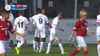 Switzerland vs Spain - 1/4 Final - Highlight - Danone Nations Cup 2016