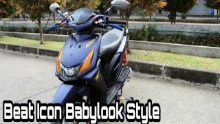 Modifikasi Honda Beat Karbu Babylook Simple Style Modifikasi Icon Kontes Youtube