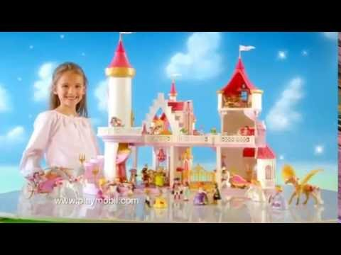 Playmobil le ch teau de princesse 5142 5143 youtube for Playmobil princesse 5142
