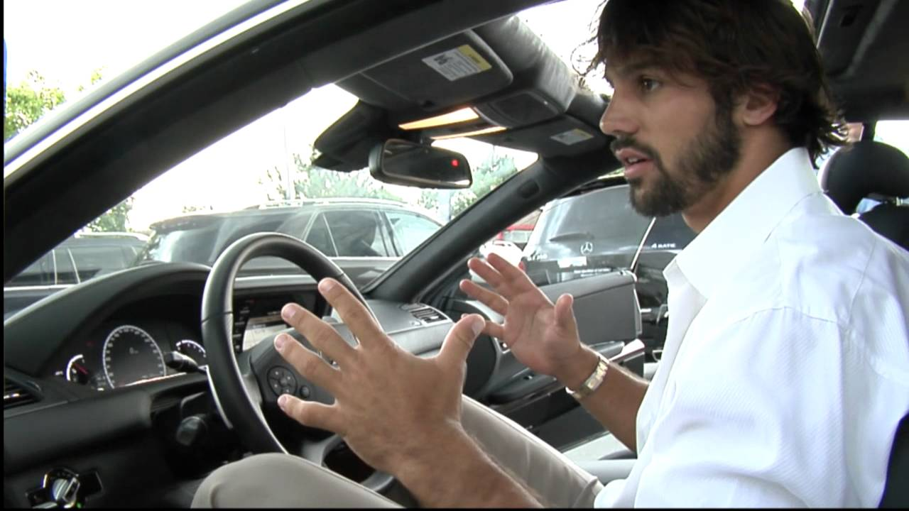 Car Share Denver >> Eric Decker shows off his 2012 CL63 AMG from Mercedes-Benz