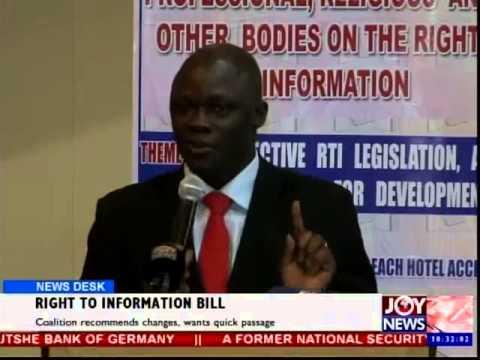 Right to Information Bill - News Desk (12-11-14)