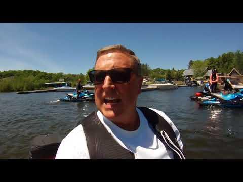 Sea Doo Ride On The Muskoka Lakes,Ontario