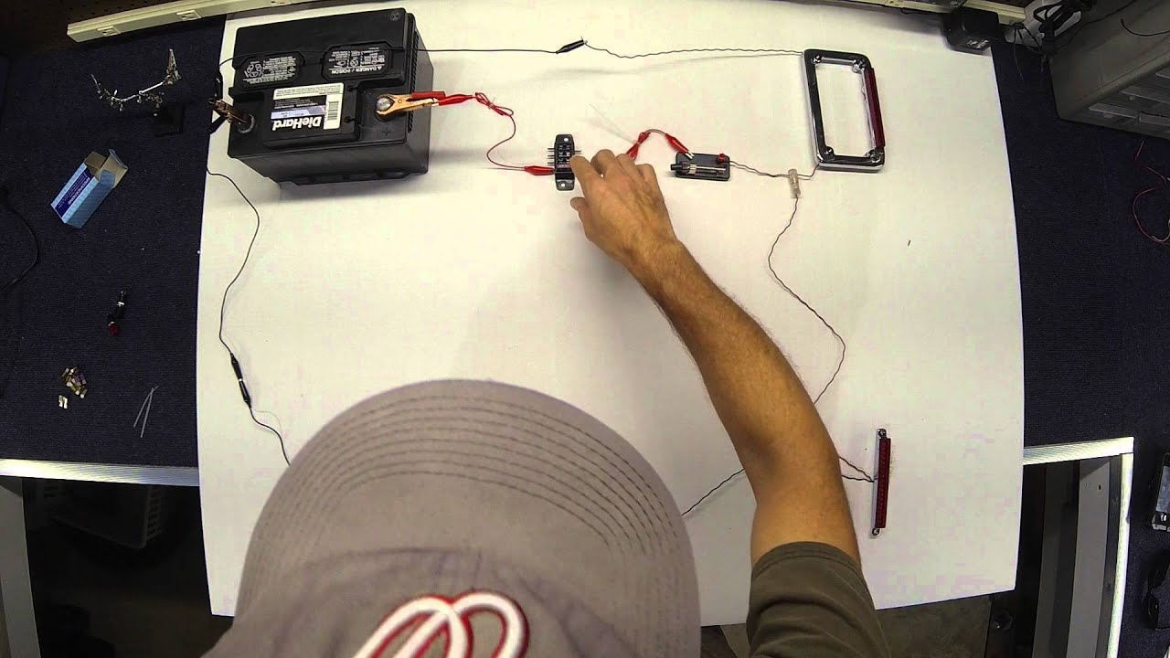 Isolating Trailer Wiring Circuit Explained Part 2 Of Youtube 4 Flat Diagram Direct