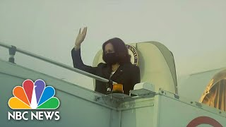 Harris' Flight To Vietnam Delayed Due To Possible 'Havana Syndrome' Cases