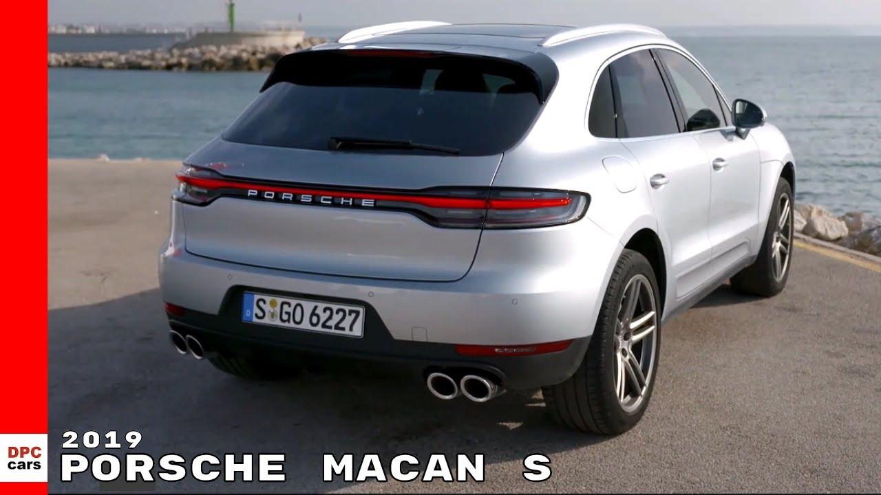 New 2019 Porsche Macan S Youtube