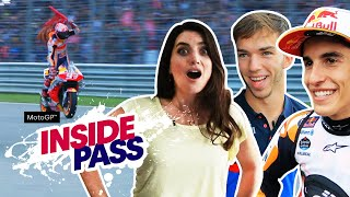 MotoGP 2019 Thailand: F1 Driver Pierre Gasly Is A Massive MotoGP Fan | Inside Pass #15