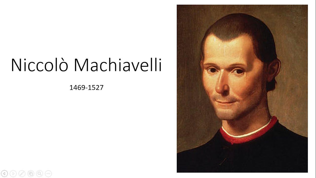 Biografia di Niccolò Machiavelli - YouTube