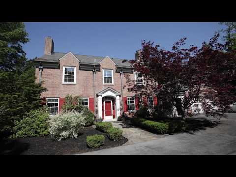Tour a historic 1938 brick Georgian Revival home in the Bellevue Park neighborhood of Harrisburg, Pa