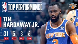 The New York Knicks defeated the Utah Jazz 117-115 tonight on the r...