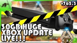 Huge! Major Update Xbox v765.3 Patch LIVE!/Rentable Servers/No Host Barrier- Ark Survival Evolved