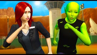 She Stormed Area 51 | A Sims 4 Story