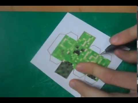 Papercraft Minecraft Papercraft - how to make great quallity creeper