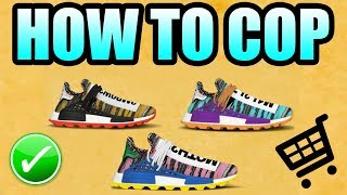 How To Get The SOLAR HUMAN RACE NMD !   Pharrell Williams Solar Human Race NMD Release Info !