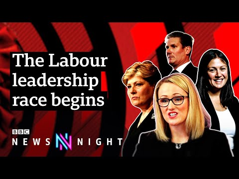 Who is in the running to replace Jeremy Corbyn as Labour leader? - BBC Newsnight