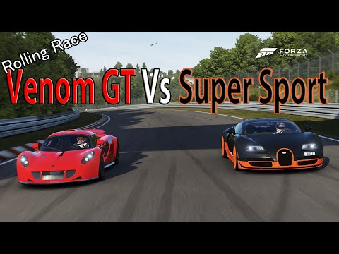 Forza Motorsport 6 – DRAG RACE: Bugatti Veyron Super Sport Vs Hennessey Venom GT