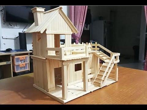 93 Gambar Rumah Rumahan Dari Stik Gratis Terbaru