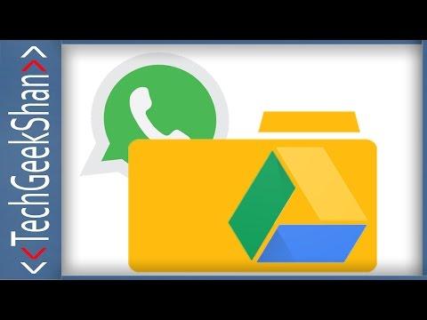 Delete WhatsApp Chat Backups Through Google Drive Web