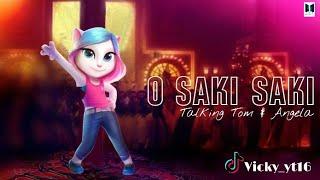 O SAKI SAKI Neha Kakkar Song Choreography By Talking Tom & Angela