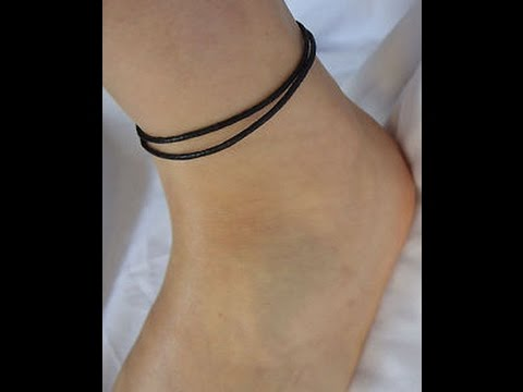 b79bebbecbf DIY Adjustable Anklet, Ankle Bracelet, Surf - YouTube
