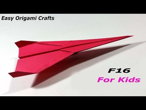 Paper Airplanes That Fly For 2019   How To Make Paper Things For Kids